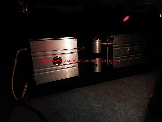 奔驰汽车音响改装 改装案例 珠海道声汽车音响改装旗舰店 珠海汽车音高清图片